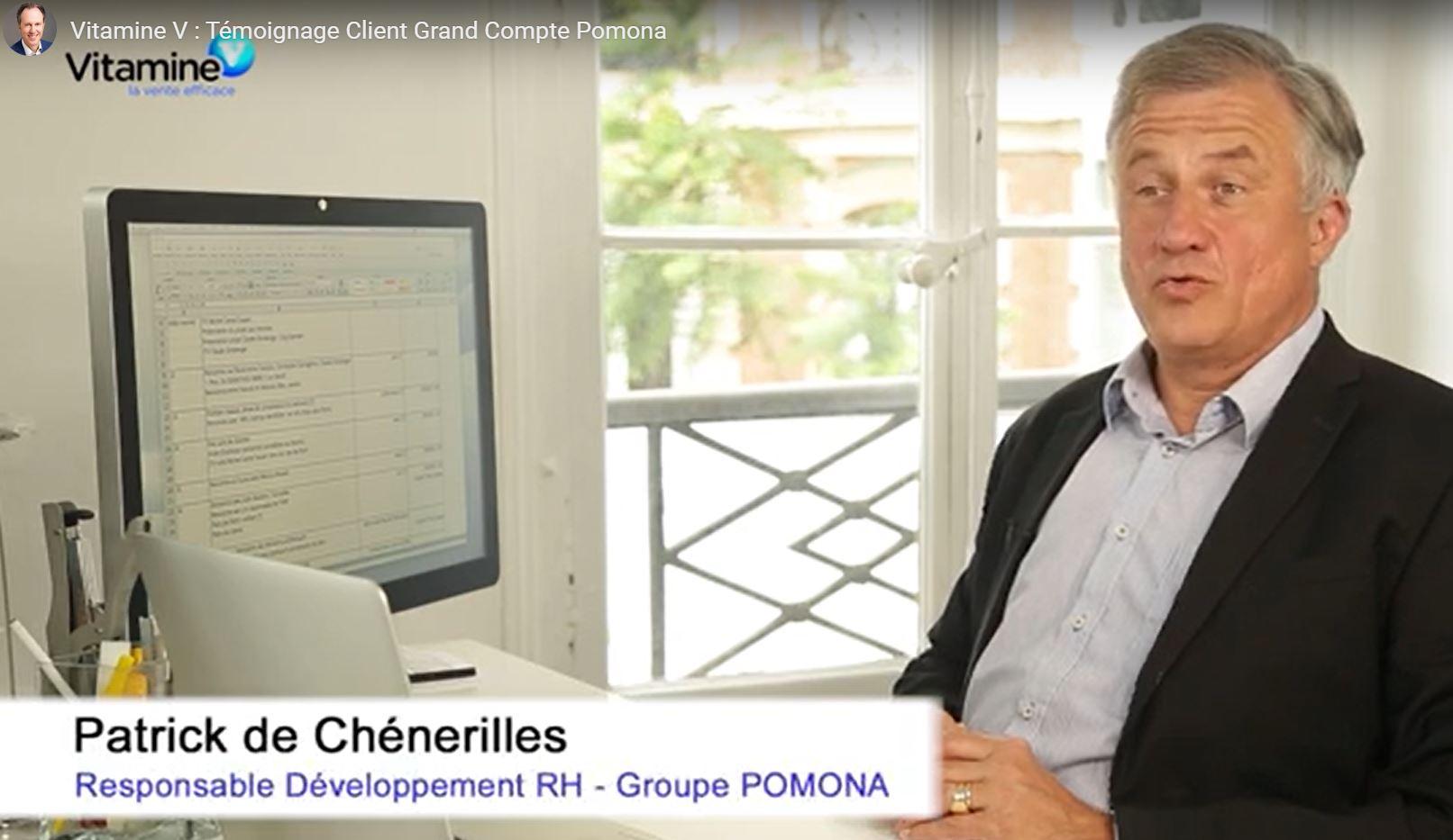 Formateur vente pour Pomona, grand compte national